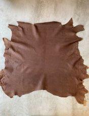 画像1: 牛 ヌバックバッファロー ブラウン (1)