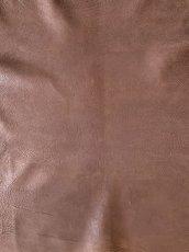 画像2: 牛 ヌバックバッファロー ブラウン (2)