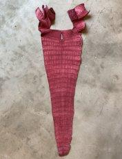 画像3: クロコダイル 尻尾 ボルドー (3)