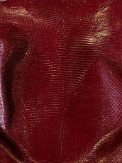 画像2: リザード ボルドー  28cm (2)