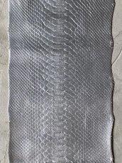 画像2: ダイヤモンドパイソン シルバー 121cm (2)