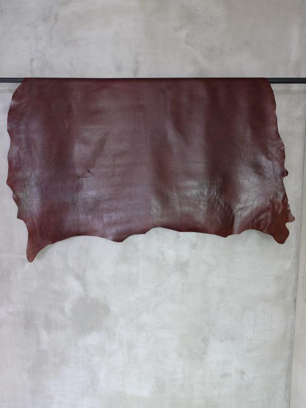 画像1: 牛 キップスムース アーモンド (1)