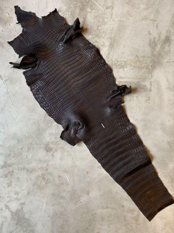 画像1: スモールクロコ ブラック (1)