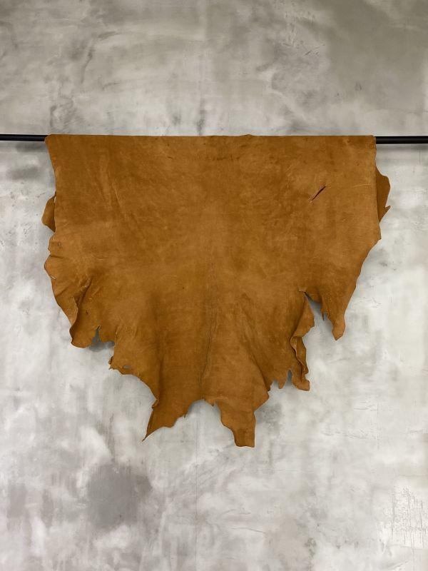 画像1: クードゥー 床革 キャメル (1)