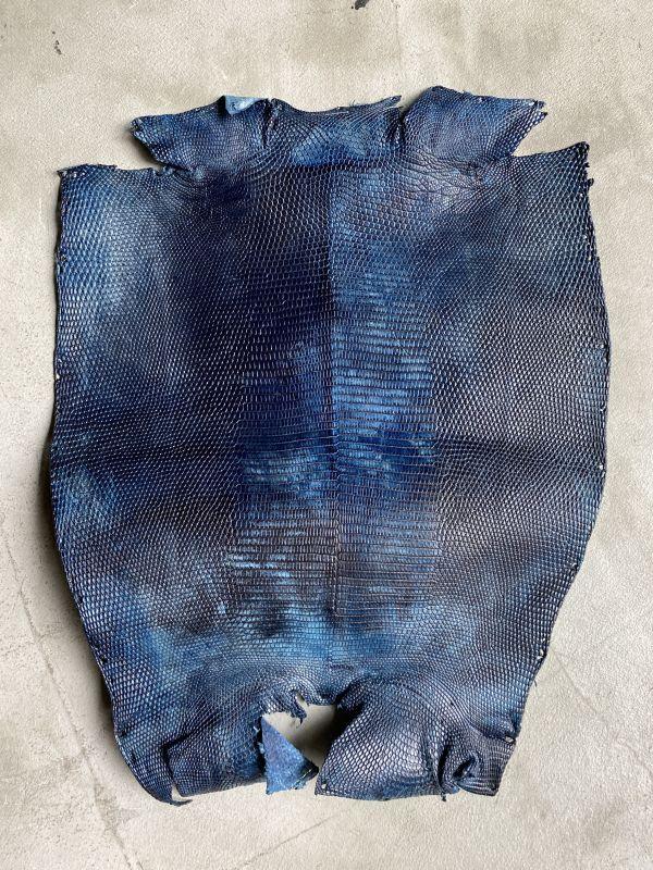 画像1: リザード ブルー(マーブル) 26cm (1)