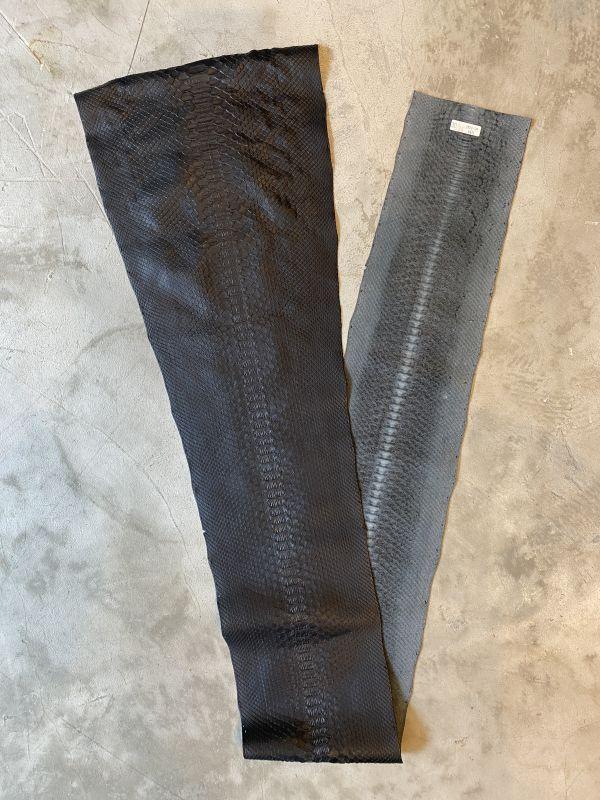 画像1: ダイヤモンドパイソン ブラック 178cm (1)