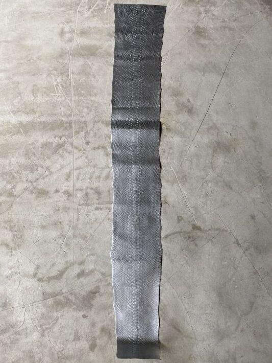 画像1: ダイヤモンドパイソン シルバー 121cm (1)